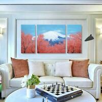 Large Wall Art for Living Room 100% Hand-painted Oil Painting Peak Of Mount Fuji
