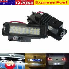 2 x LED Licence Number Plate Light Canbus VW Passat CC Polo GTI Golf MK6 MK5 MK4