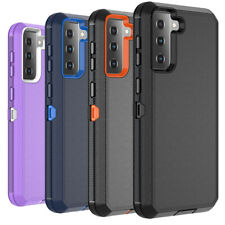 For Samsung Galaxy S21/Plus/Ultra Case Hybrid Shockproof Defender Rugged Cover