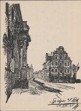 HERMANN HUSSONG - Speyer *  rheinland-pfalz OFFSET LITHOGRAPH 1929