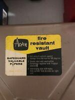 Acorn fire resistant vault!