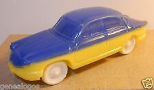 FALK 1960 MOULE NOREV MADE IN FRANCE PANHARD DYNA PL 17 BLEU F JAUNE 1/43 REF 3