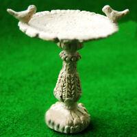 1:12Doll House Miniature Fairy Garden Furniture Resin Bird Bath Fountain Decor S