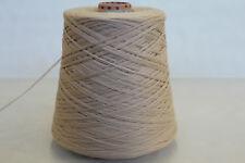 E72 (49,98€/kg) 500g KASCHMIR / CASHMERE / MERINO HELLBEIGE (2,6) Wolle Strick