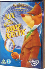 Basil The Great Mouse Detective Walt Disney Animated Film Childrens DVD - New
