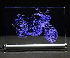 SUZUKI SV 650 come incisione su lastra di LED