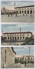 PAN CALIF EXPO SAN DIEGO '15 3 OLD UNUSED POSTCARDS 3 DIF SAC VALLEY BLD  PC7511