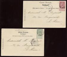 BELGIUM 1901 PPCs BRUSSELS MUSEUM PAINTINGS...2 CARDS