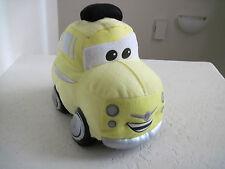 "Disney store CARS LUIGI 9"" Yellow Car Plush"