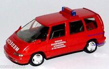 SOLIDO voiture de pompier RENAULT ESPACE French fire car automobile di pompieri