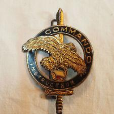 insigne ancien - insigne commando instructeur