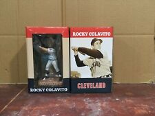 Rocky Colavito Cleveland Indians Bobblehead bobble head First Ever!!  In Stock