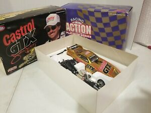 NHRA JOHN FORCE 1998 MUSTANG 7 TIME CHAMPION FUNNY CAR ACTION 1:24 SCALE LE