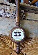 Vintage Miller Wood 3-Sided Beer Draft Keg Tap Pull Handle 70s