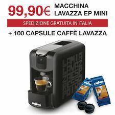 Lavazza Ep Mini Nera Espresso Point + 100 Caspule Lavazza Crema e Aroma
