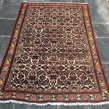 "Semi Antique Malayer Persian Oriental Area Rug 4'4"" x 6'4"""