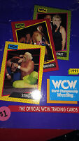 WCW Official Trading Cards 1991 Wrestling Collectible Collectors