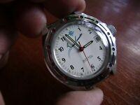 Wostok Vostok Komandirskie USSR Soviet Russian Men's Watch
