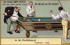 Pubblicitaria Advertising - Biliardo Billiards - Napoli - Non Viaggiata - PU369