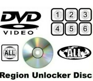 Toshiba hd-ep30 Dvd Region Free Multi Region Unlocker Discs