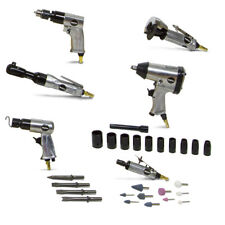 WOLF Air Chisel Kit Air Tool Drill Ratchet Die Grinding Cut Off Impact Wrench