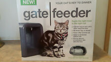 Gate Feeder automatic programmable smart tag cat food bowl