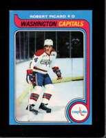 1979-80 TOPPS #91 ROBERT PICARD EXMT CAPITALS  *X5055
