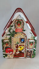 M & M Tin 2002 Limited Edition Christmas Village Series Tea House #15 in Series