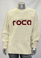 Men's Rocawear Ivory Sweater 100% Lamb's Wool