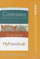 MyFrenchLab -- Access Card -- for Contrastes: Grammaire du français courant (one