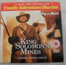 'King Solomon's Mines' Daily Mail Promo DVD Patrick Swayze