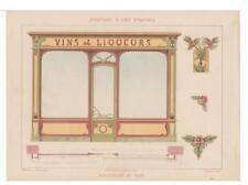Mulier. Peinture d'Art Nouveau Art Nouveau Design Plates. Chromolithographs