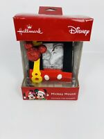 Hallmark 2018 Disney Mickey Mouse Photo Holder Frame Box Ornament. New