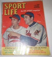 Sport Life Magazine Lou Boudreau & Joe Gordon March 1949 NO ML 072414R
