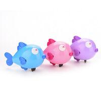 Wind-up reloj de baño juguetes animales beso de pescado bebé ducha nataciG2