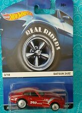 HOT WHEELS 1/64 REAL RIDERS 3/18 DATSUN 240Z NEW