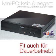MINI-PC CASS-COMPUTER WITH 1,5GHz CPU DVD 512MB DDR2 SATA + IDE 2 x LAN 4 x USB