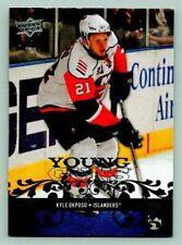 2008-09 Upper Deck Young Guns Kyle Okposo Rookie Card #229 Hockey Card