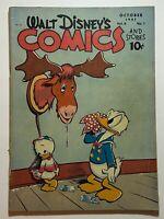 Walt Disney's Comics & Stories #85 Carl Bark Art Donald Duck 1947 Dell Comics