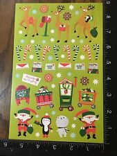 CHRISTMAS STICKERS - BY DARICE - ONE SHEET OF BEAUTIFUL STICKERS - #BELEN04