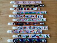 Character Ribbon Dummy Clips - free MAM adapter if requested