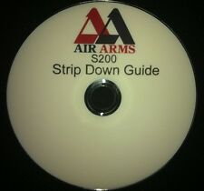AIR ARMS s200 STRIP DOWN GUIDE FULLY PRINTED DVD+FREE TARGETS