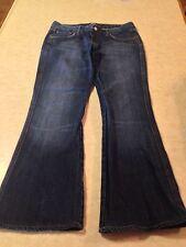 """Seven For All Mankind Women's Jeans Size 30 U130061U-061U Cut 702372 inseam 28"""""""