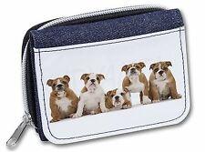 AD-LP2JW Labrador Puppy Girls//Ladies Denim Purse Wallet Christmas Gift Idea