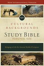 NIV, Cultural Backgrounds Study Bible, Personal Size, Hardcover, Red Letter: New