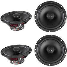 "(4) New! MB Quart DK1-116 6.5"" 140 Watt 2-Way Car Speakers/Aluminum Dome Tweeter"