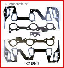 Engine Intake Manifold Gasket ENGINETECH, INC. IC189-D