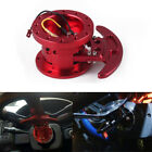 Red Steering Wheel Quick Release Hub Adapter Body Removable Snap Off Boss Kit Us