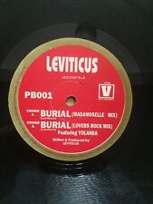 "Philly Blunt Records Leviticus Burial 1994 Jungle 12"" Record Vinyl"