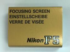 Nikon Focusing Screen Type G3 for F5 Film Camera Body